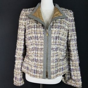 Escada Blazer size 40 - US size 10 - Texured Zip